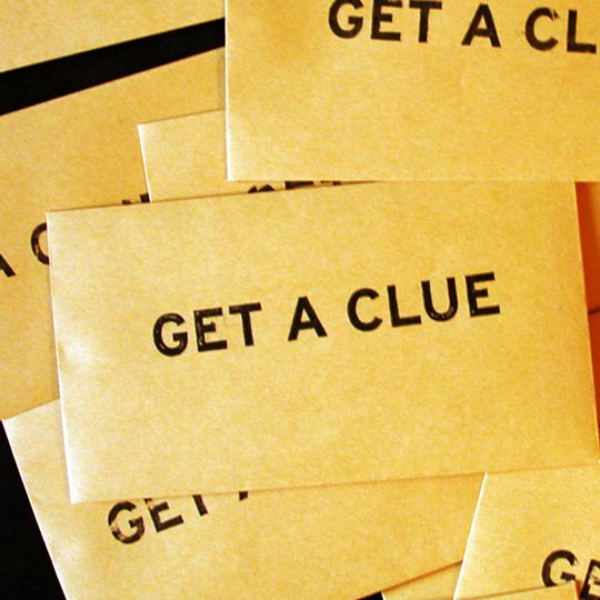 get a clue stewdio